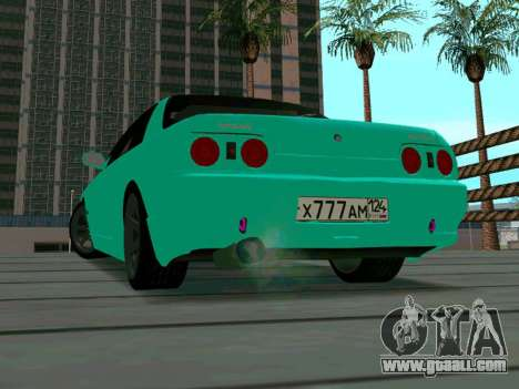 Nissan Skyline R-32 CITY STYLE STOK for GTA San Andreas back view
