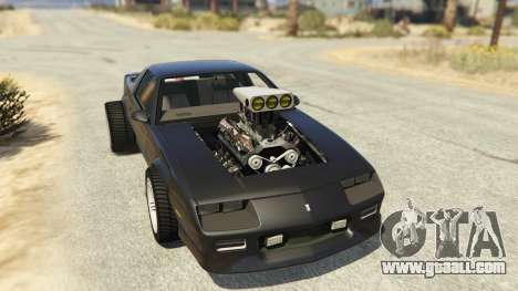 IROC-Z Big V8 Drag Car for GTA 5