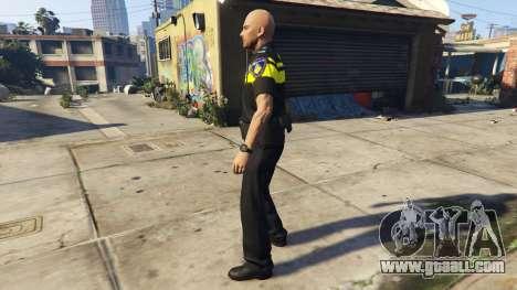 GTA 5 Politie PED Skin