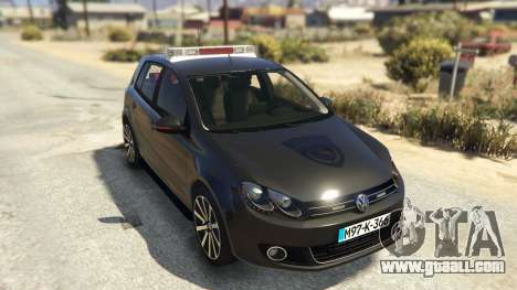 GTA 5 SIPA Policija back view