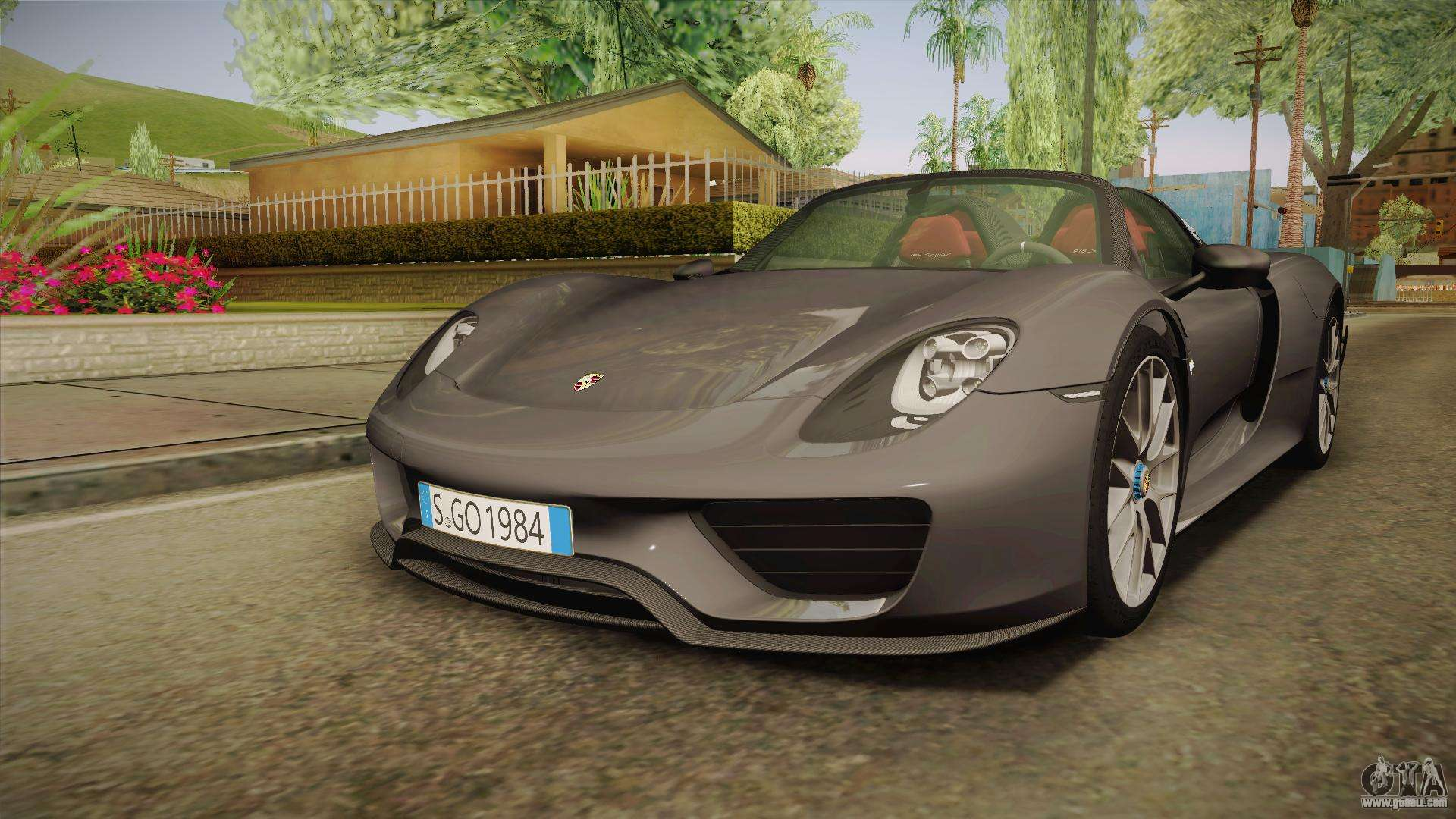 375249-gta-sa-2016-12-31-15-47-52-39 Remarkable Porsche 918 Spyder On the Road Cars Trend