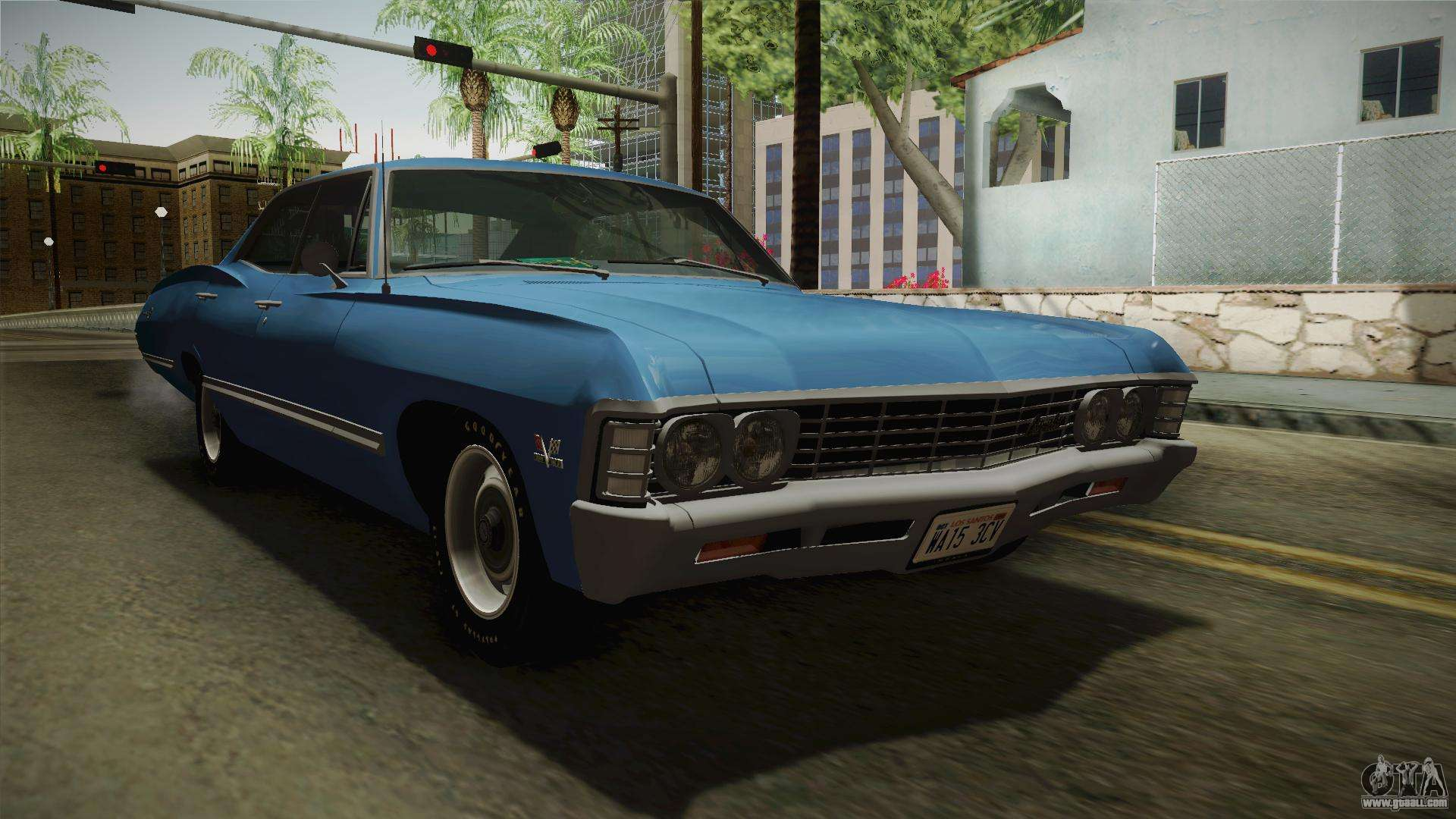 Chevrolet impala 4 door hardtop 1963 for gta san andreas - Chevrolet Impala Sport Sedan 396 Turbo Jet 1967 For Gta San Andreas