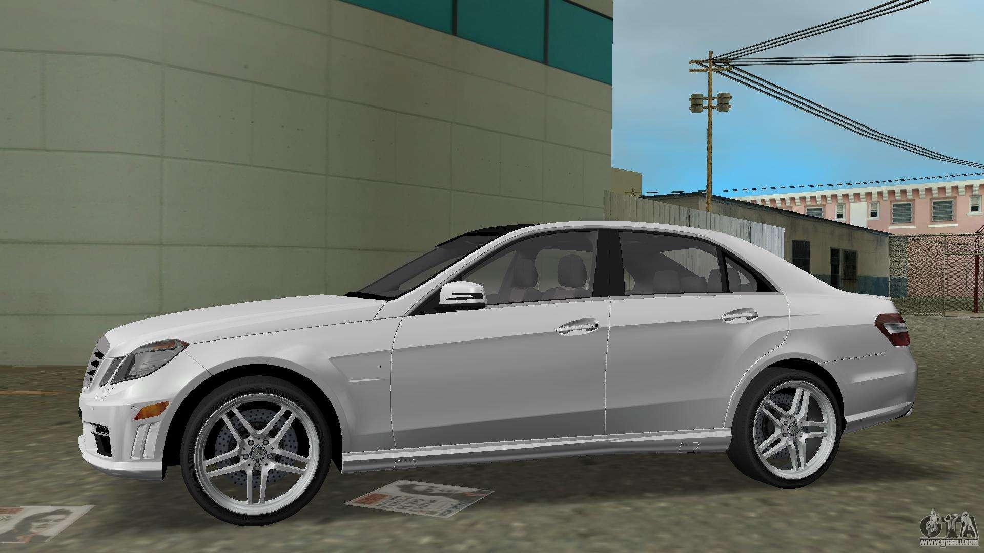 Mercedes benz e63 amg tt black revel for gta vice city for Mercedes benz city