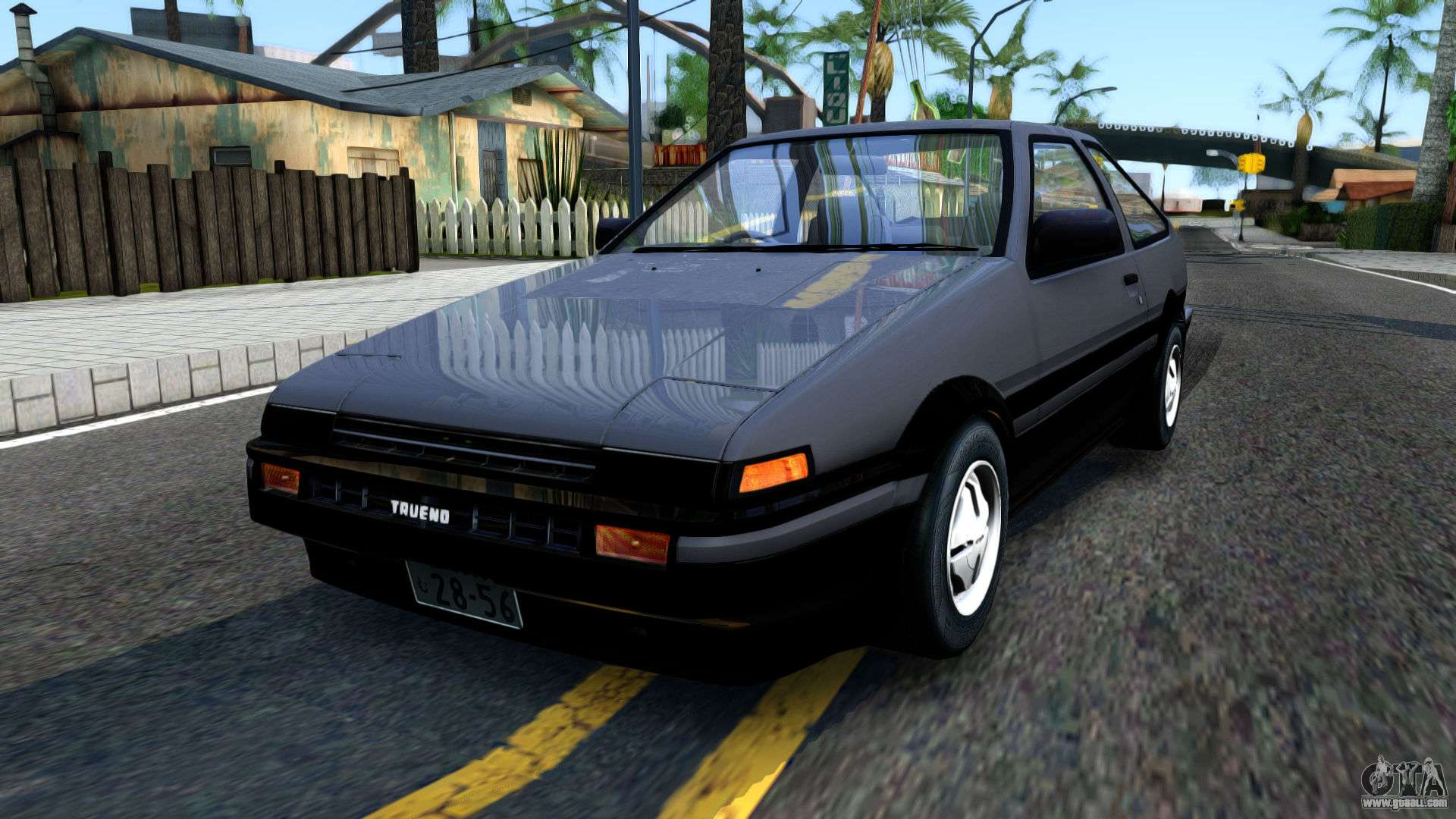 toyota sprinter trueno for gta san andreas. Black Bedroom Furniture Sets. Home Design Ideas