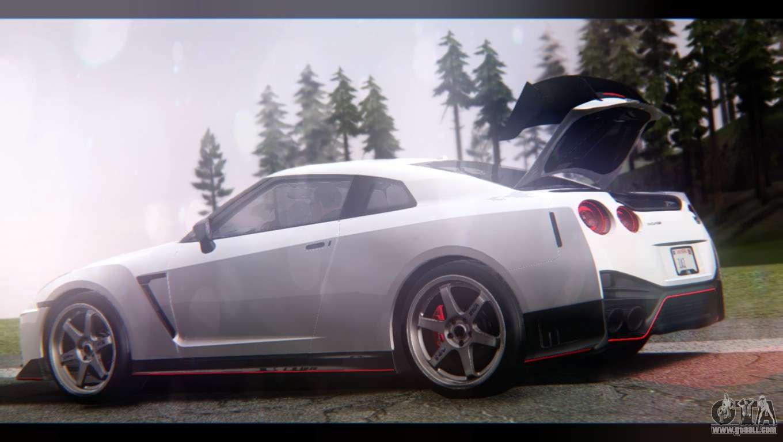 2017 Nissan Gt R Nismo >> Nissan GT-R Nismo 2017 for GTA San Andreas
