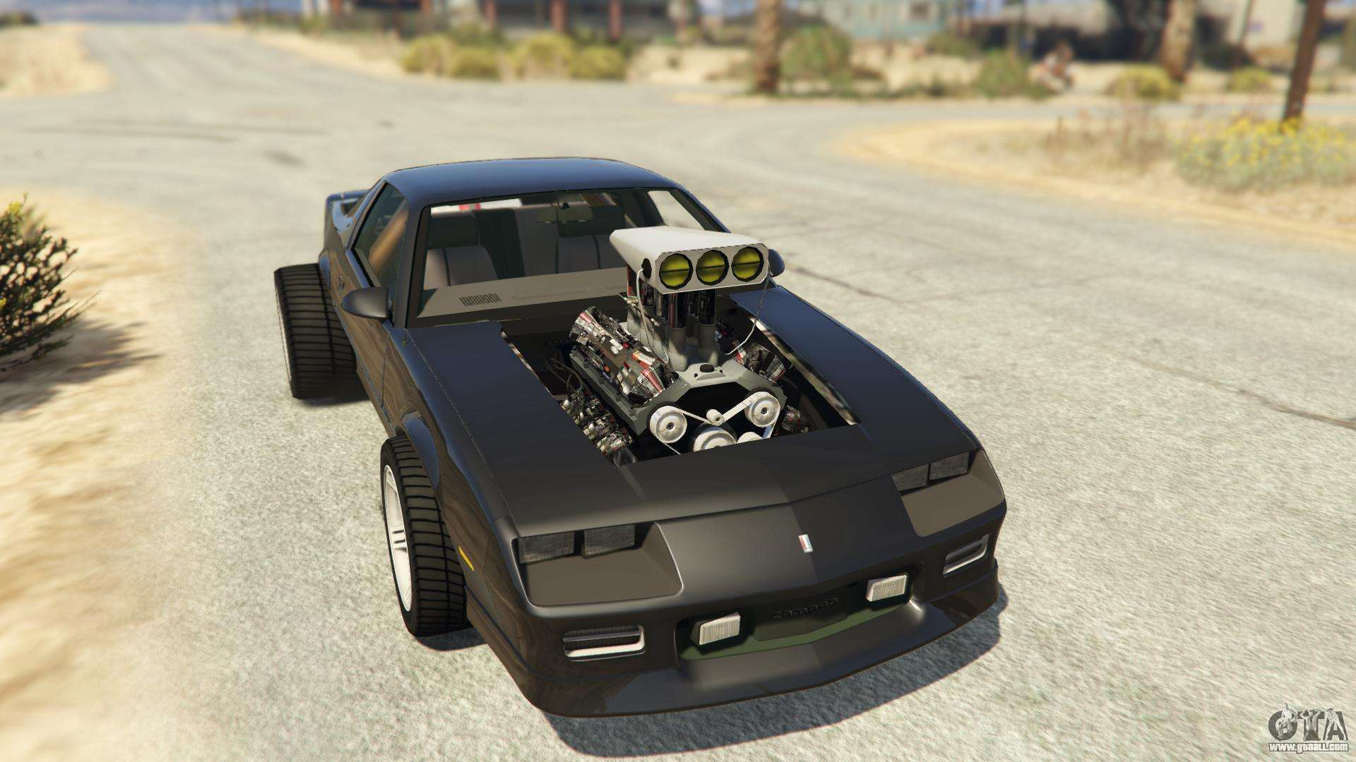 iroc z big v8 drag car for gta 5. Black Bedroom Furniture Sets. Home Design Ideas