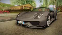 Porsche 918 Spyder 2013 Weissach Package EU