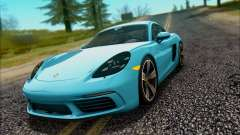 Porsche 718 Cayman S 2017 for GTA San Andreas