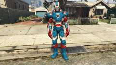 Iron Man Patriot for GTA 5