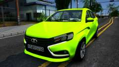 Lada Vesta for GTA San Andreas