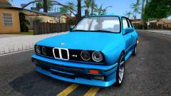 BMW M3 E30 turquoise for GTA San Andreas