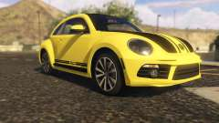 Limited Edition VW Beetle GSR 2012 for GTA 5