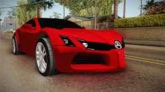 Mercedes-Benz Concept for GTA San Andreas