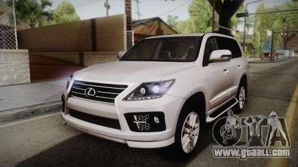 Lexus LX570 F-Sport Design for GTA San Andreas