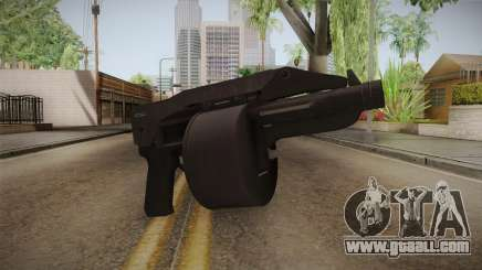 Bikers DLC Sweeper Shotgun for GTA San Andreas