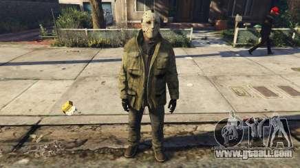 Jason Voorhes Ped model v3 for GTA 5