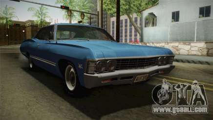 Chevrolet Impala Sport Sedan 396 Turbo-Jet 1967 for GTA San Andreas