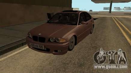 BMW 320i Armenian for GTA San Andreas
