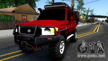 Toyota Land Cruiser 70 Off-Road V2.0 for GTA San Andreas