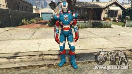 Iron Man Patriot for GTA 5
