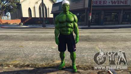 The Hulk with eyes for GTA 5