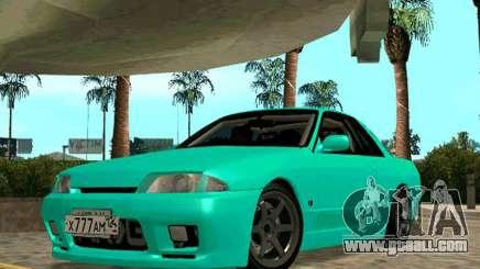 Nissan Skyline R-32 CITY STYLE STOK for GTA San Andreas