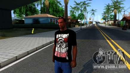 Nike Air Jordan S.O.M. Do You Know T-Shirt Black for GTA San Andreas