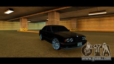BMW M5 E34 for GTA San Andreas