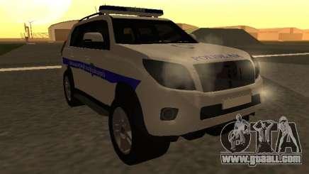 Toyota Land Cruiser Polise Armenian for GTA San Andreas