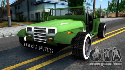Rat Rod Mesa for GTA San Andreas