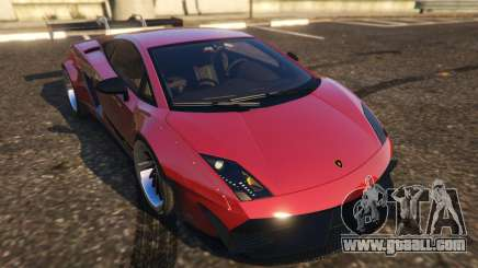 Lamborghini Gallardo Superleggera LibertyWalk for GTA 5