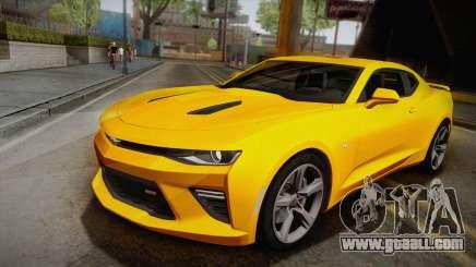 Chevrolet Camaro SS 2017 for GTA San Andreas