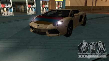 Lamborghini Aventador LP700-4 Armenian for GTA San Andreas