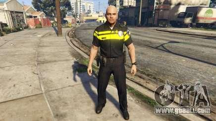 Politie PED Skin for GTA 5