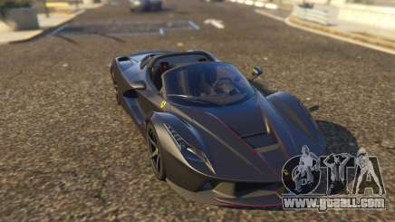Ferrari LaFerrari Aperta 2017 for GTA 5