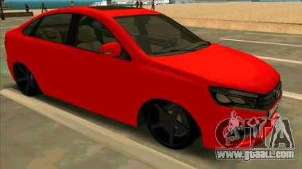Lada Vesta BPAN for GTA San Andreas
