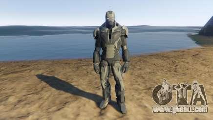 Iron Man Shotgun for GTA 5