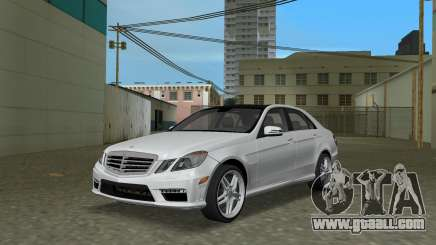 Mercedes-Benz E63 AMG TT Black Revel for GTA Vice City