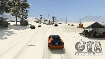 Christmas in Singleplayer (Snow Mod) 1.01 for GTA 5