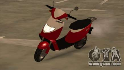 GTA IV Faggio for GTA San Andreas