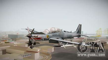 Embraer-314 Super Tucano for GTA San Andreas