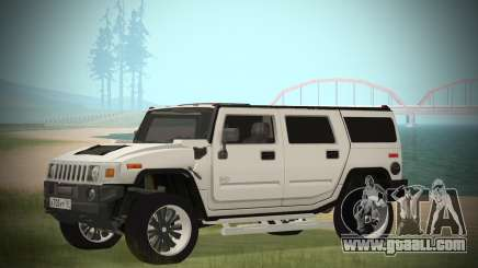 Hummer H2 Loud Sound for GTA San Andreas