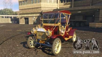 Ford T 12 model 1 for GTA 5