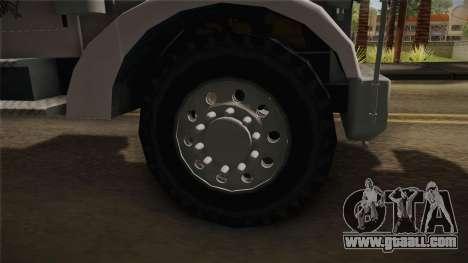 Peterbilt 351 Dump Truck for GTA San Andreas back view