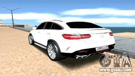 Mercedes-Benz GLE AMG for GTA San Andreas left view