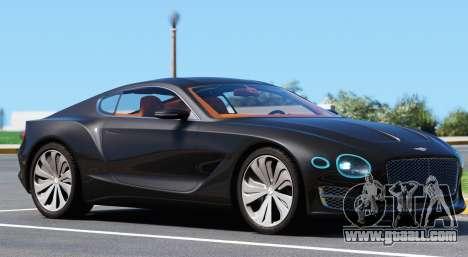 GTA 5 Bentley EXP 10 Speed 6 left side view