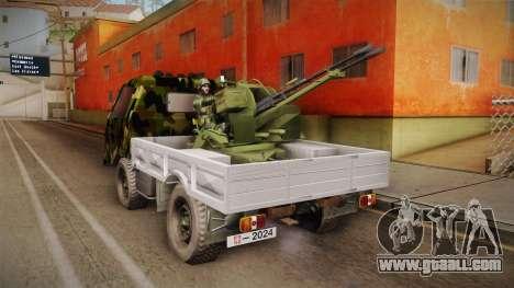 TAM 110 Vojno Vozilo v2 for GTA San Andreas left view