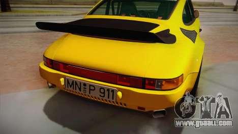 RUF CTR Yellowbird (911 930) 1987 for GTA San Andreas right view