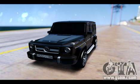Mercedes-Benz G65 AMG for GTA San Andreas upper view