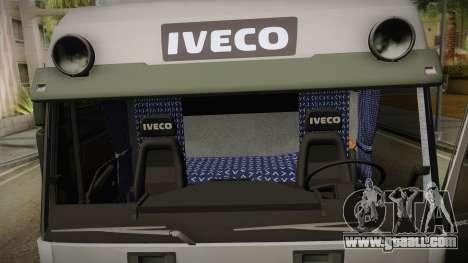 Iveco Eurotech 400E34 Tandem v2.0 for GTA San Andreas side view